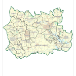 2015 Witney deanery parish boundaries